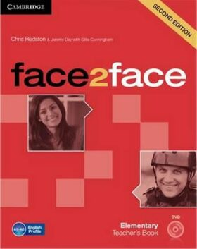 face2face Elementary Teachers Book with DVD,2nd - Chris Redston, Gillie Cunningham
