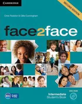 Face2face Intermediate Students Book with DVD-ROM - Chris Redston, Gillie Cunningham