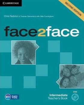 face2face Intermediate Teachers Book with DVD,2nd - Chris Redston, Gillie Cunningham