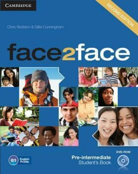 Face2face Pre-intermediate Students Book with DVD-ROM - Chris Redston, Gillie Cunningham