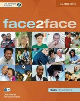 face2face Starter: Student´s Book with CD-ROM/Audio CD - Chris Redston, Gillie Cunningham