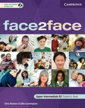 face2face Upper-Intermediate: Student´s Book with CD-ROM/Audio CD - Chris Redston, Gillie Cunningham
