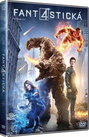 Fantastická čtyřka (2015) DVD - DVD