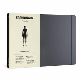 Fashionary Portfolio Sketchbook - Mens Edition -