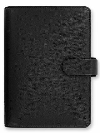 Diář Filofax A6 - Saffiano 2021, Osobní, černá