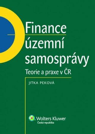 Finance územní samosprávy - Jitka Peková