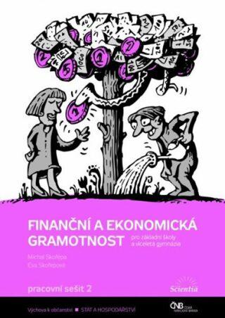 Finanční a ekonomická gramotnost pro ZŠ a víceletá gymnázia - Pracovní sešit 2 - Skořepa M., Skořepová E.