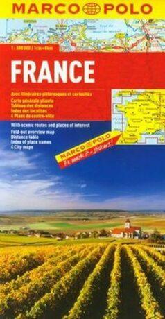 Francie/mapa 1:800T MD - neuveden