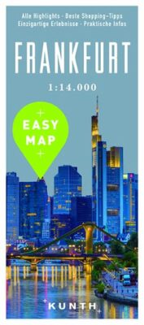 Frankfurt - Easy Map 1:14 000 - neuveden