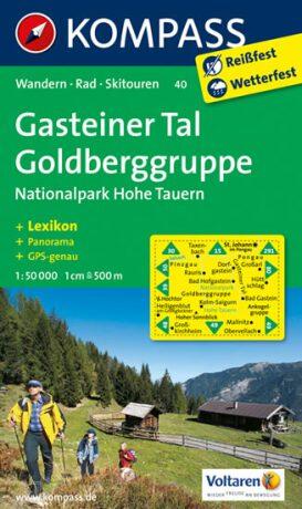 Gasteiner Tal,Goldberggruppe 40 / 1:50T NKOM - neuveden