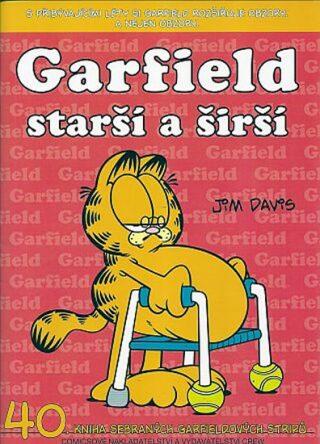 Garfield starší a širší - Jim Davis