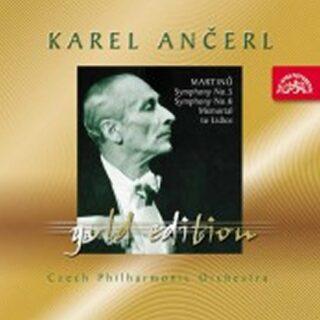 Gold Edition 34 - Martinů -  Symfonie č. 5 a 6 (Symf. fantazie), Památník Lidicím  - CD - Bohuslav Martinů