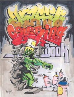 Graffiti Coloring Book -