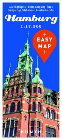 Hamburg - Easy Map 1:17 500 - neuveden