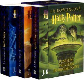 Harry Potter 5-7 - dárkový box (komplet) - Joanne K. Rowlingová