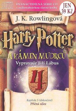 Harry Potter a Kámen mudrců 4 - Joanne K. Rowlingová, Jiří Lábus