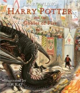 Harry Potter and the Goblet of Fire : Illustrated Edition - Joanne K. Rowlingová