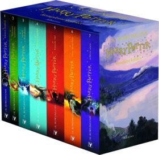 Harry Potter (Jonny Duddle) box 1-7 - Joanne K. Rowlingová