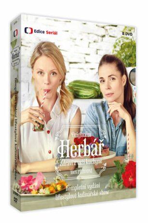 Herbář - 8 DVD - Kateřina Winterová, Linda Rybová