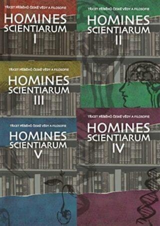 Homines scientiarum I–V (komplet) - Antonín Kostlán, Michal V. Šimůnek, Tomáš Hermann, Dominika Grygarová, Soňa Štrbáňová, Tomáš Petráň