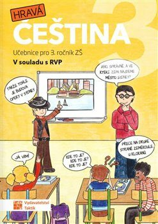 Hravá čeština 3 - učebnice