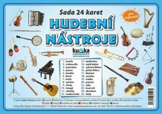 Hudební nástroje - Sada 24 karet - Petr Kupka