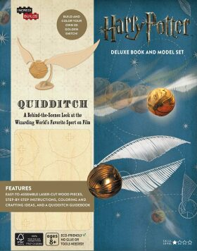 Incredibuilds: Harry Potter: Quidditch Deluxe Book and Model Set - Jody Revensonová
