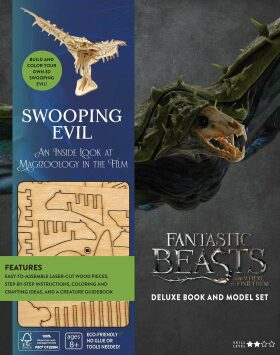 Incredibuilds: Fantastic Beasts and Where to Find Them: Swooping Evil Deluxe Book and Model Set - Jody Revensonová