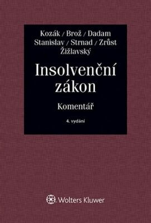 Insolvenční zákon: Komentář - Kolektiv