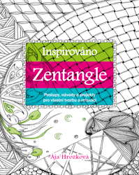 Inspirováno Zentangle - Ája Hrozková