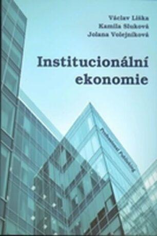 Institucionální ekonomie - Štouračová Judita