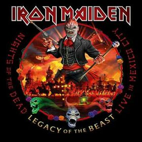 Nights of the Dead, Legacy of the Beast: Live in Mexico City - Iron Maiden - audiokniha
