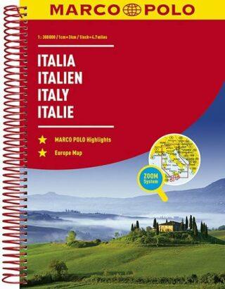 Itálie - Italia/atlas-spirála 1:300T - neuveden