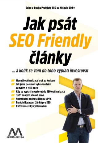 Jak psát SEO Friendly články - Michal Binka