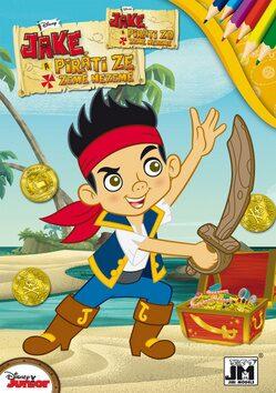 Jake a piráti omalovánka -