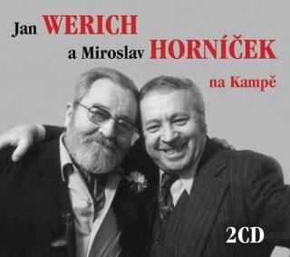 Jan Werich a Miroslav Horníček na Kampě - Jan Werich, Miroslav Horníček
