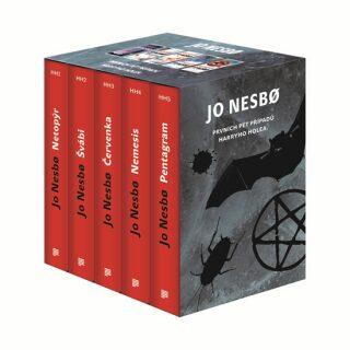 Jo Nesbo - dárkový box (komplet) - Jo Nesbø