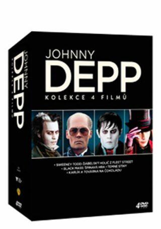 Johnny Depp kolekce - DVD