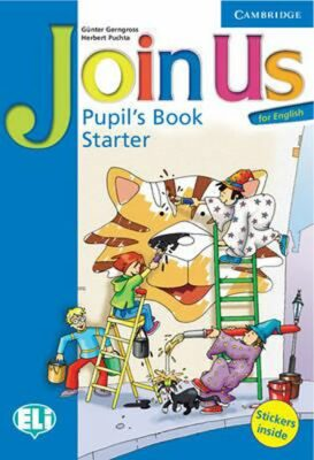Join Us for English Starter Pupils Book - Günter Gerngross