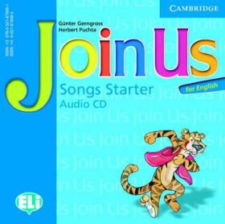Join Us for English Starter Songs Audio CD - Günter Gerngross