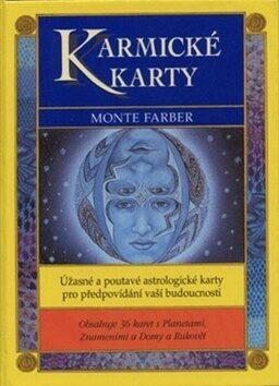 Karmické karty + kniha - Oldřich Šrámek, Monte Farber