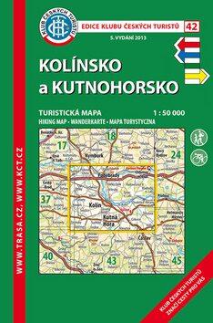 KČT 42 Kolínsko a Kutnohorsko 1:50 000 -