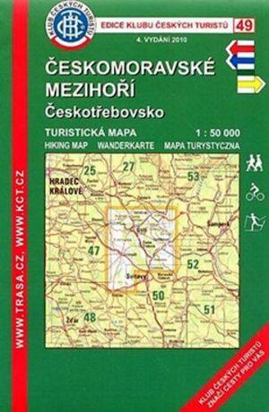 KČT 49 Českomoravské mezihoří 4.vyd. - neuveden