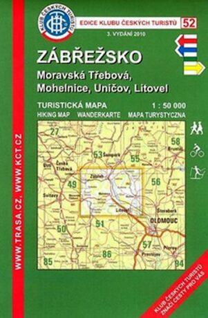 KČT 52 Zábřežsko Moravská Třebová, Mohelnice, Uničov, Litovel - neuveden