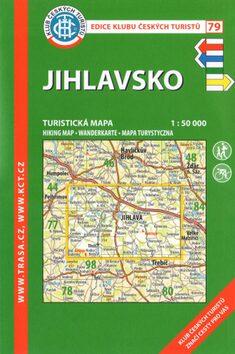 KČT 79 Jihlavsko 1:50 000 -