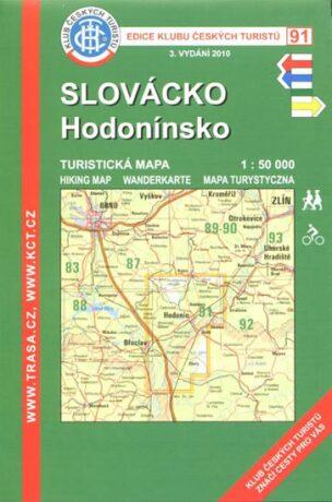 KČT 91 Slovácko, Hodonínsko 1:50 000 - neuveden