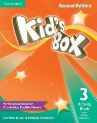 Kid´s Box 3 Activity Book with Online Resources, 2nd Edition - Caroline Nixon