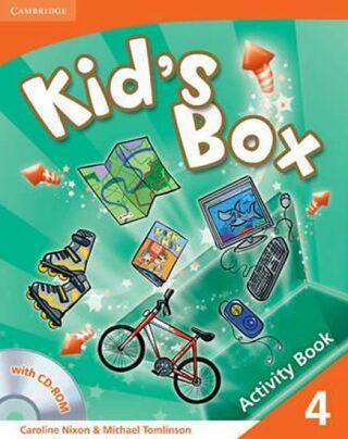 Kid´s Box 4 Activity Book with CD-ROM - Caroline Nixon, Michael Tomlinson