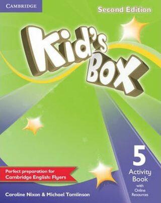 Kid´s Box 5 Activity Book with Online Resources,2nd Edition - Caroline Nixon