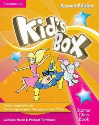 Kid´s Box Starter Class Book with CD-ROM, 2nd Edition - Caroline Nixon